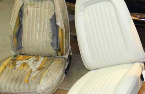 vehicle upholstery