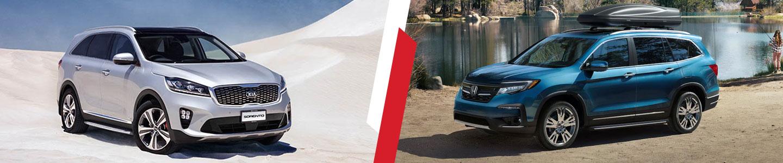 2019 Kia Sorento SUV VS. Honda Pilot