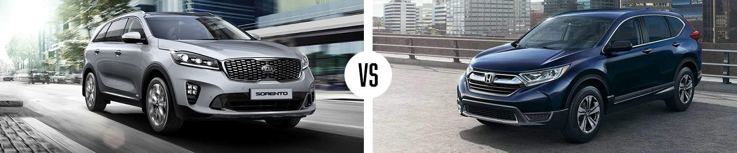 Comparing The New Sorento And Honda CR-V
