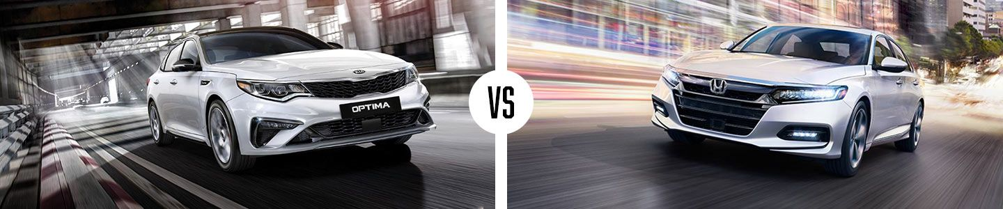 The Kia Optima Vs. The Honda Accord