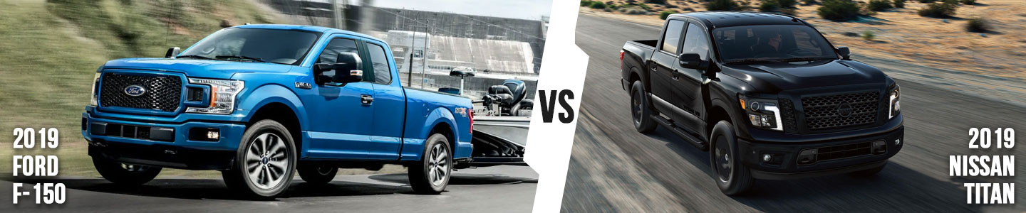 2019 Ford F-150 vs. 2019 Nissan Titan in Bloomington, IN