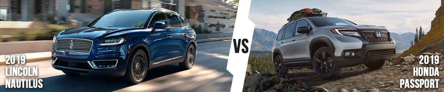 2019 Lincoln Nautilus vs. Honda Passport in Bloomington, IN