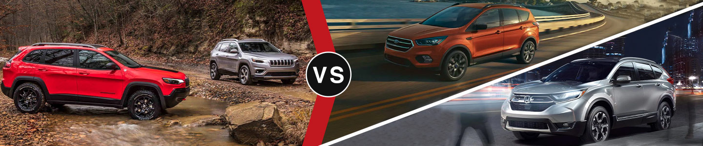 Community CDJR of Bloomington 2019 Jeep Cherokee Vs The Competition