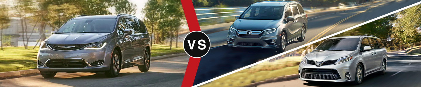 Community CDJR of Bloomington 2019 Chrysler Pacifica VS the competition