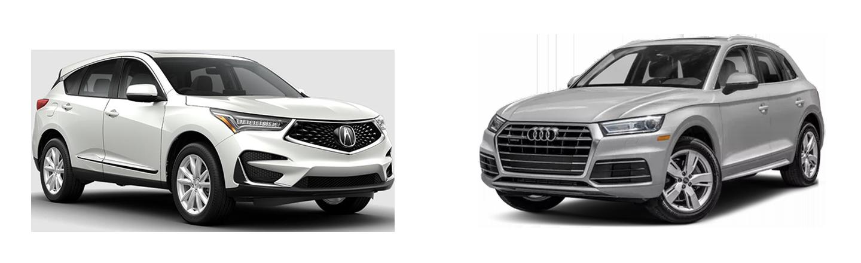 2019 Acura RDX vs 2019 Audi Q5