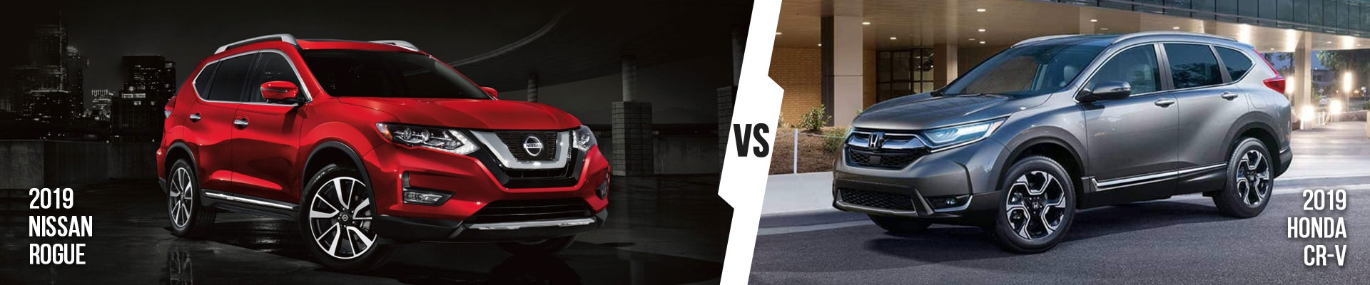 Examine The Nissan Rogue vs. Honda CR-V In Fort Myers, Florida