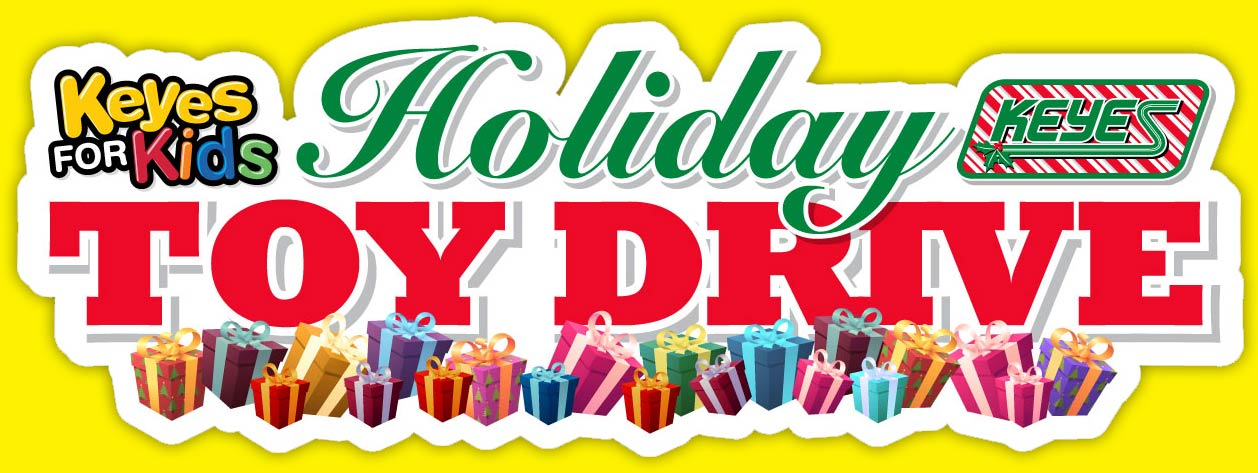 keyes for kids holiday toy drive