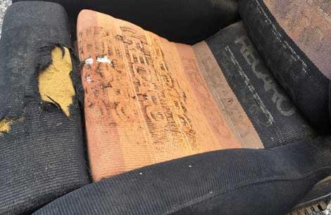 seat and cushion repair
