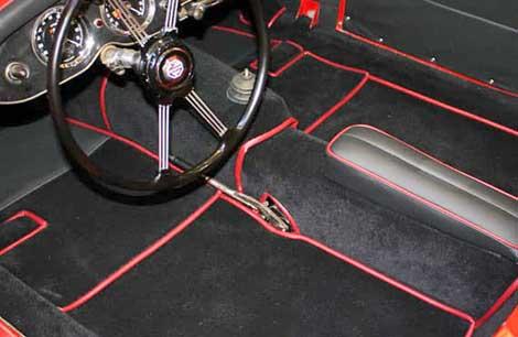 vehicle carpeting
