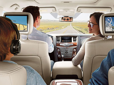 2019 Nissan Armada Gear Shift