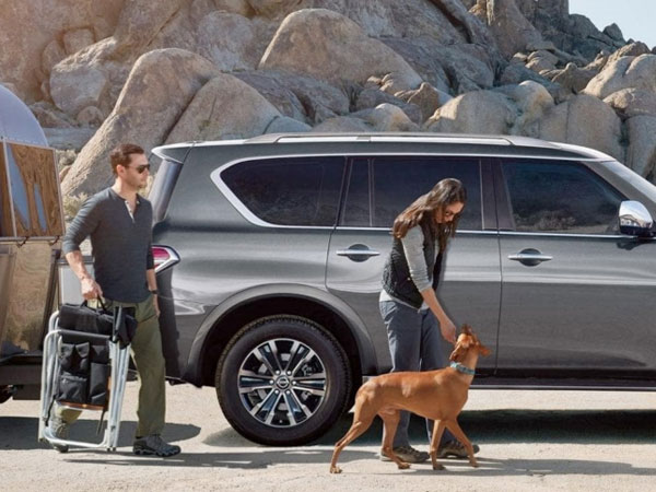 2019 Nissan Armada Safety Features