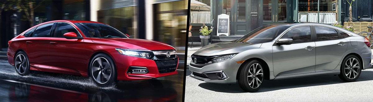 2019 Honda Accord vs 2019 Honda Civic