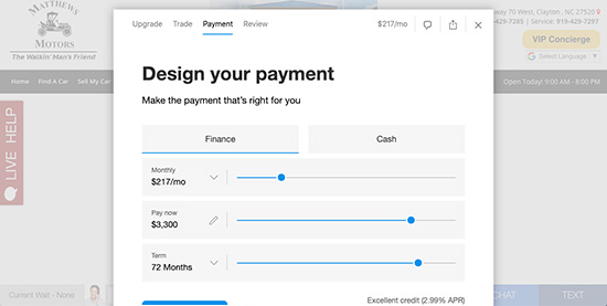 3. Payment Calculator