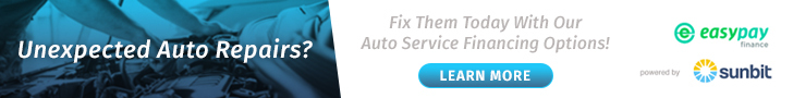 Auto Service Finiancing Available