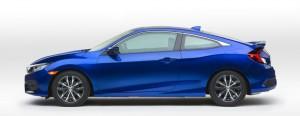 Honda Civic coupe LA Auto Show debut