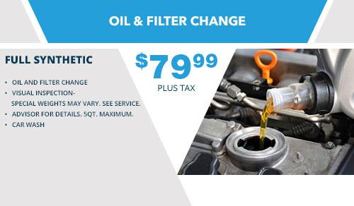 Oil & Filter Change 2