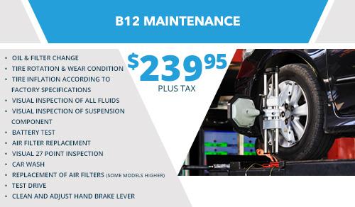 B12 Maintenance