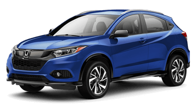2019 Honda HR-V Crossovers in Westerville, blue sport