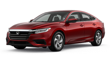 2019 Honda Insight Hybrids in Westerville, red