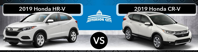 2019 Honda HR-V vs. 2019 CR-V
