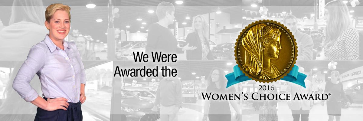 2016 womens choice award