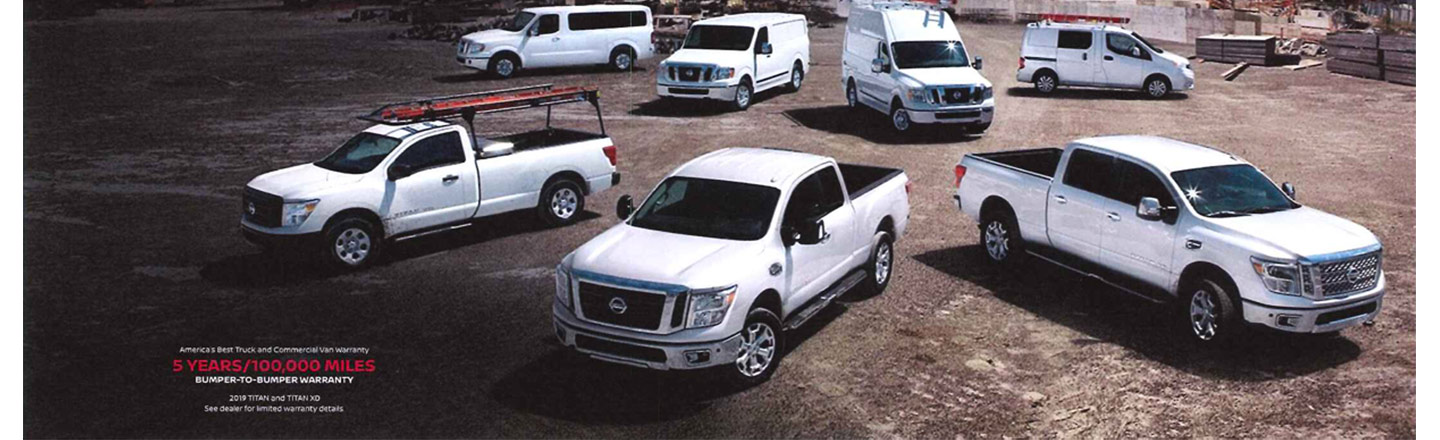 Built to Work: Nissan Commercial Vehicles