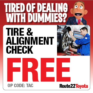 Tire and Alignment Check