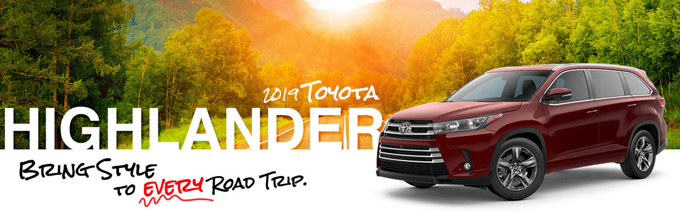 The New 2019 Toyota Highlander SUV