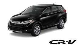 New Blue Honda CR-V Vehicle Exterior