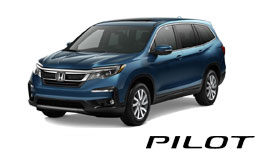 New Silver Honda Pilot SUV Vehicle Exterior