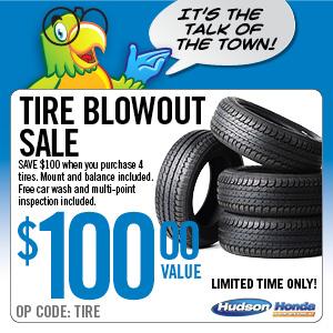 Tire Blowout Sale