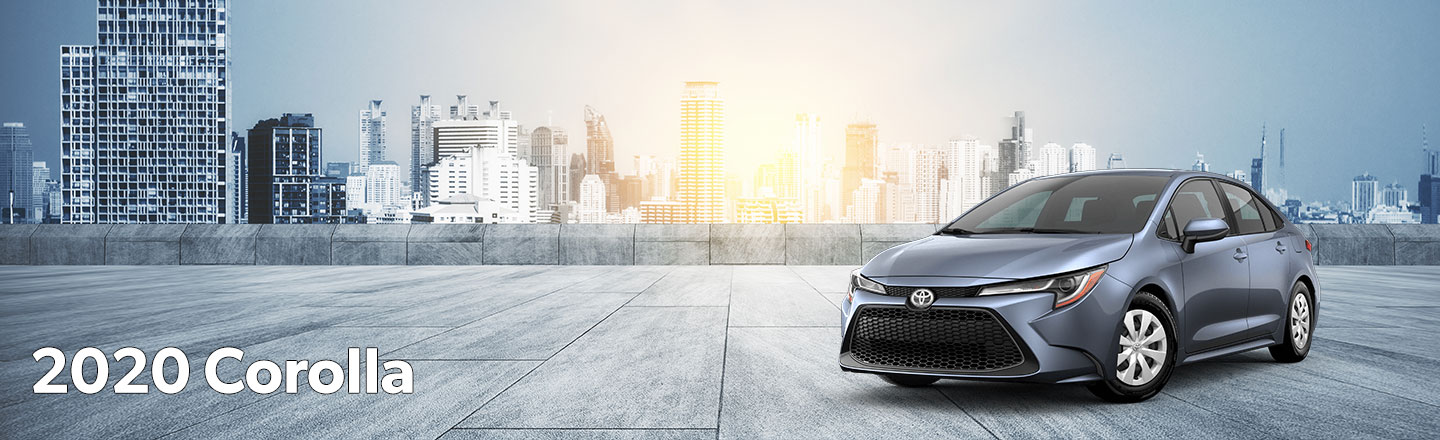 2020 Toyota Corolla at Musson-Patout Toyota