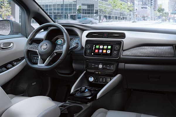2019 Nissan LEAF Design, Interior Features & Technology