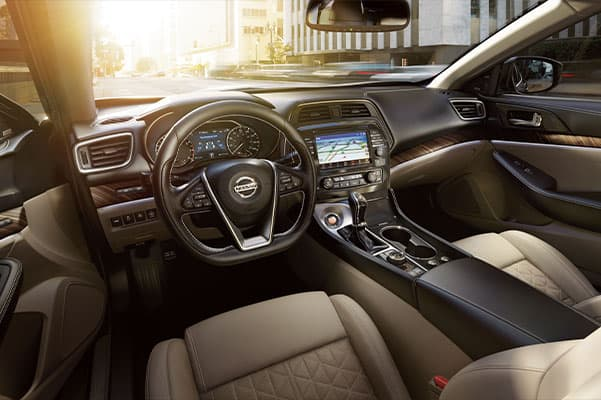 2019 Nissan Maxima Design, Interior Features & Technology