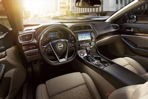 2019 Nissan Maxima Design, Interior Features & Technology