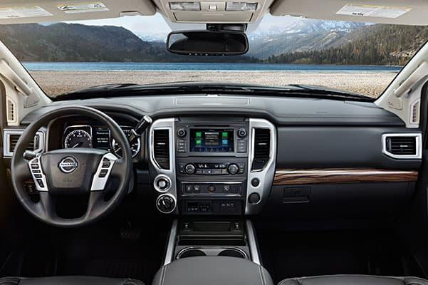 2019 Nissan Titan Design, Interior Features & Technology