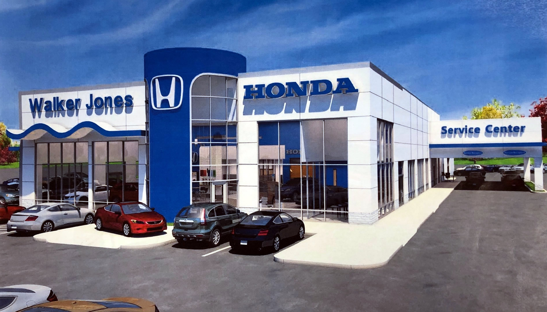 Walker Jones Honda Dealership