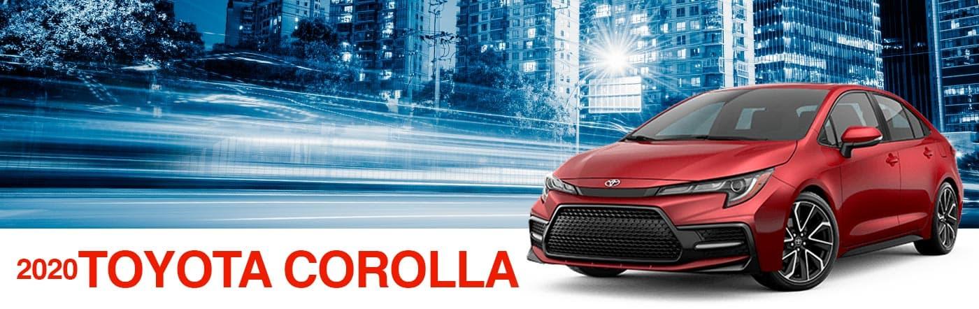 2020 toyota corolla at Toyota of Renton