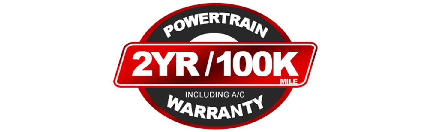 Powertrain 2 yeaer/ 100k miles warranty