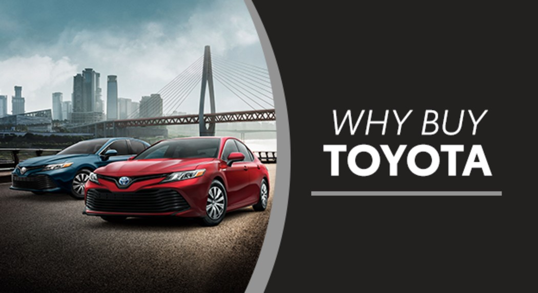 Why Buy Toyota - Robbins Toyota - Nash, TX