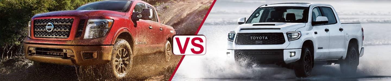 Premier Nissan of Metairie 2019 Titan Vs Tundra