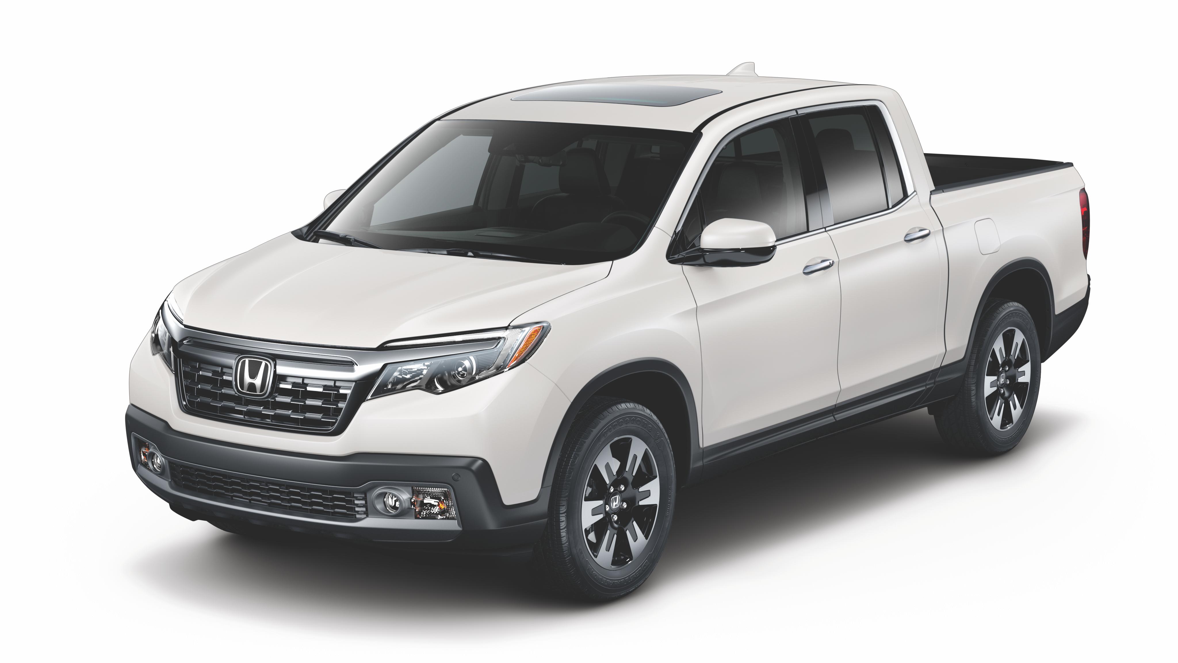 White 2019 Honda Ridgeline
