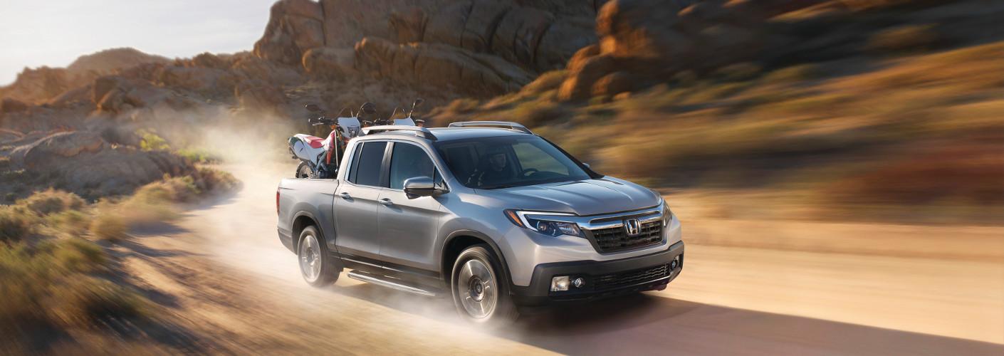 2019 Honda Ridgeline in desert