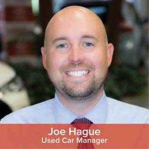 Joe  Hague   Bio Image