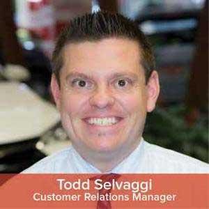 Todd  Selvaggi   Bio Image