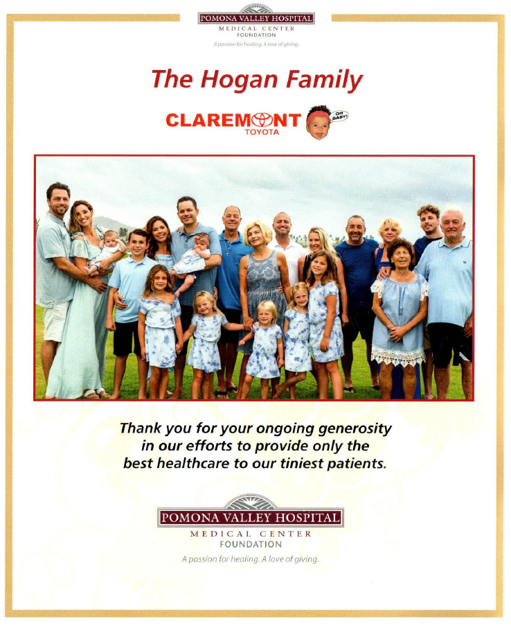 Thank You: The Hogan Family