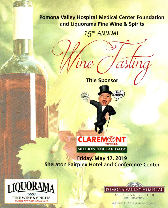 15th annual wine tasting