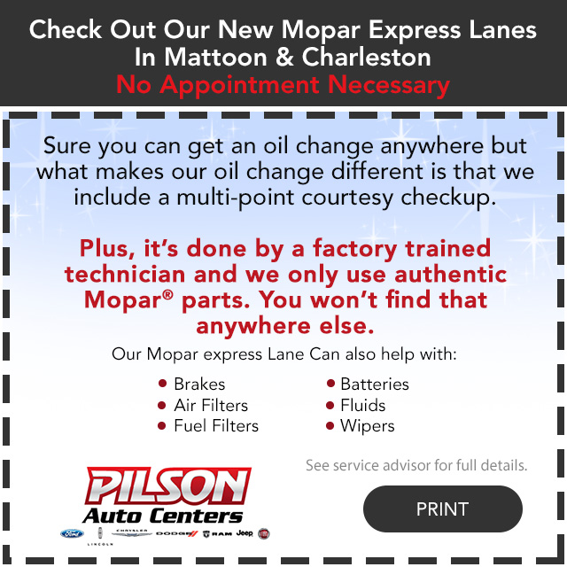 Mopar Express Lane