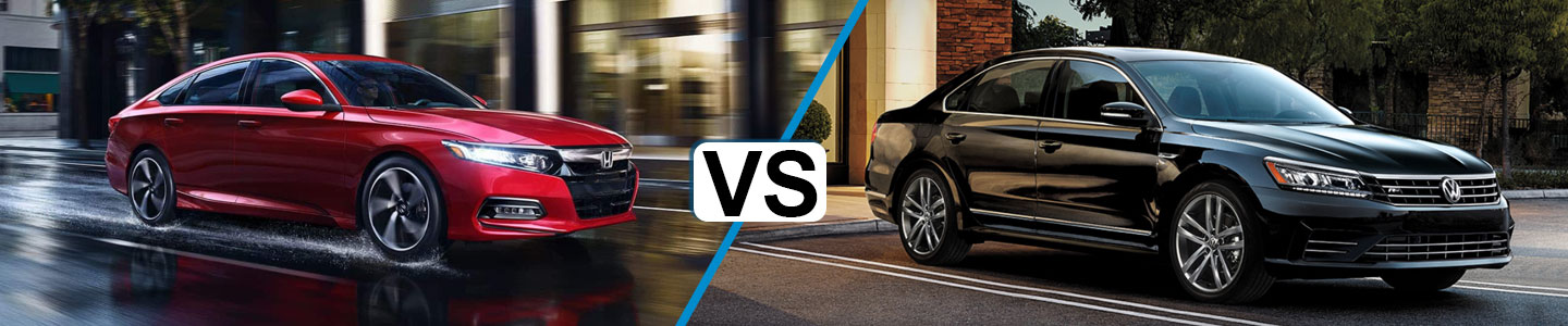 Discover How the 2019 Honda Accord and the 2019 Volkswagen Passat Compare