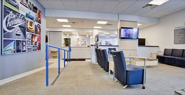 Photo of Classic Chevrolet Service Center Waiting Room in Owasso, OK